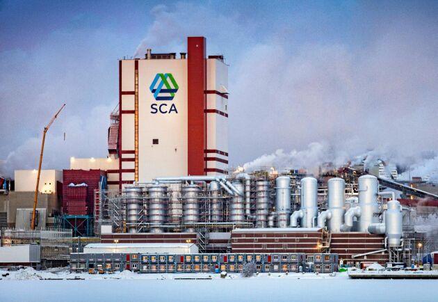 SCA har under 2018 slutfört utbyggnaden av massafabriken i Östrand, Timrå.
