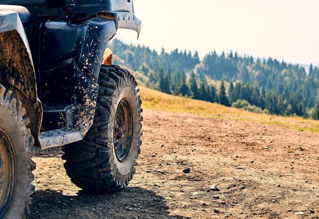Skatteverket klassar fyrhjulingen som en förmån – som ska beskattas.