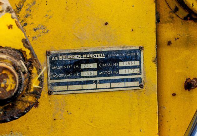 Ingemars baklastare är en LM 218.
