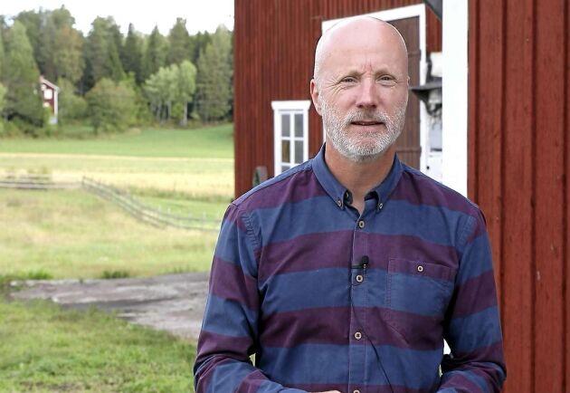 """""""Ett batteri är inte den billigaste reservkraften, men den är smidig eftersom den startar av sig själv"""", säger Vattenfalls Magnus Berg, som kan se flera nyttor med ett batterilager."""