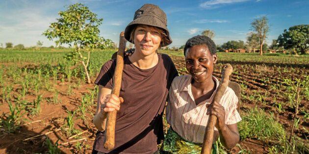 Sökes: Tuff kvinna för jobb som zambisk bonde