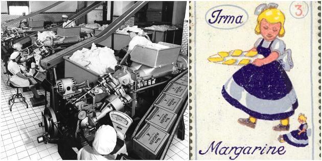 Margarinet uppfanns för franska flottan