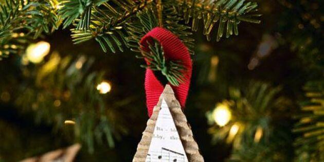 Julgransdekoration för musikälskare