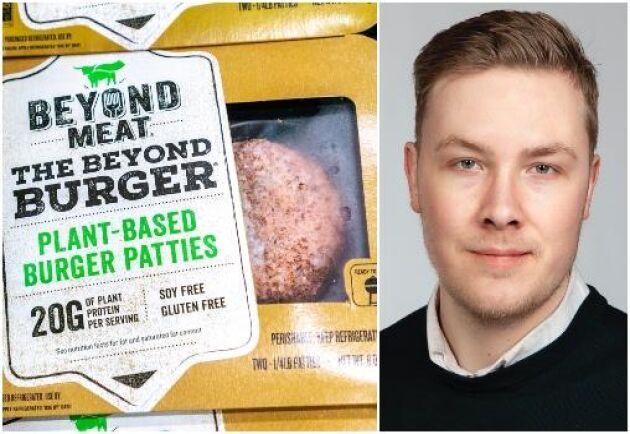 Beyond Meat-aktien sedan kurstoppen i juli rasat med närmare 40 procent senaste månaden ned till runt 146 dollar under oktober, skriver ATL:s ekonomireporter David Gustavsson.
