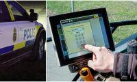 Polisen varnar för nya GPS-stölder