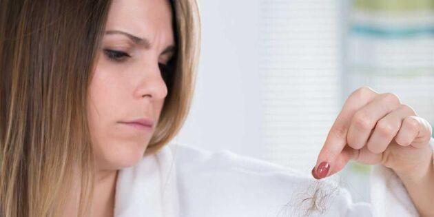10 orsaker till håravfall – och vad du kan göra åt det