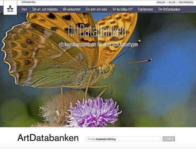ArtDatabanken drabbas av kraftiga nedskärningar.