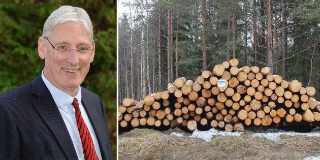 Minskat rörelseresultat för Mellanskog
