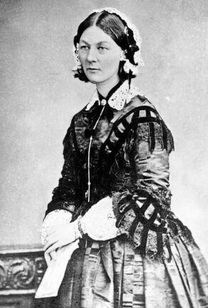 Emmy Rappes idol och lärare var världsstjärnan och sjuksköterskan Florence Nightingale.