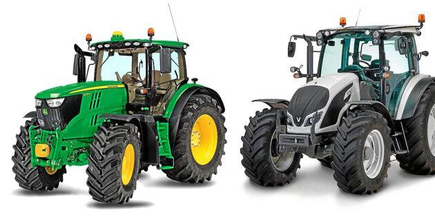 Stor spänning i traktortoppen