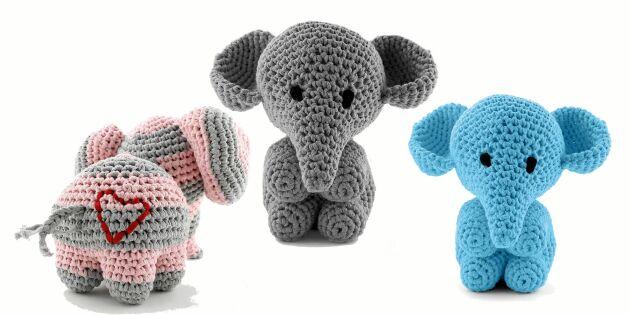 Virka en kramgo elefant – sommarens mysigaste kompis