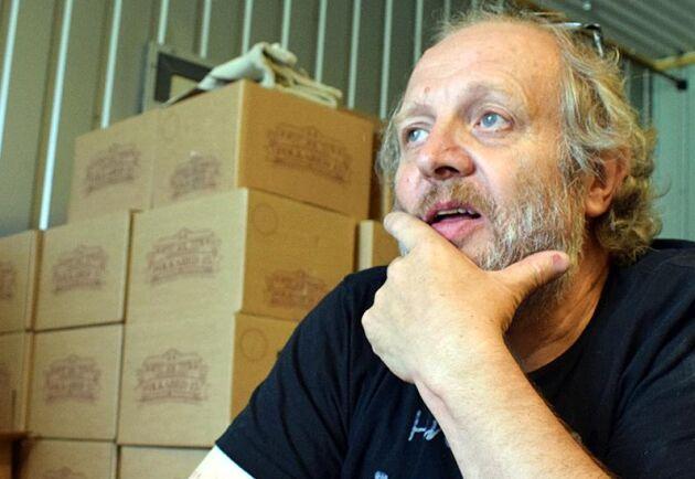 Philip Nicholson är illustratör från början, men driver nu sitt eget bryggeri.