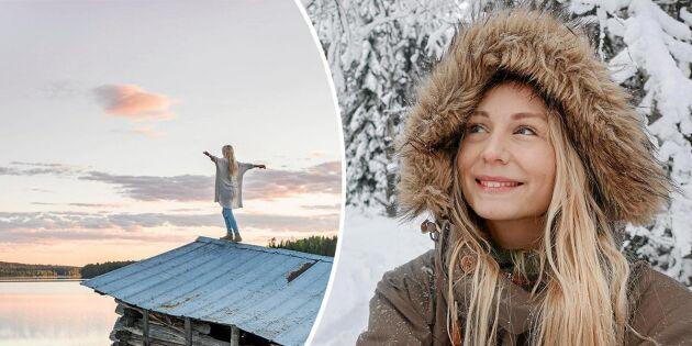 Glädjebesked om vindkraftsparken i Jonna Jintons hemby