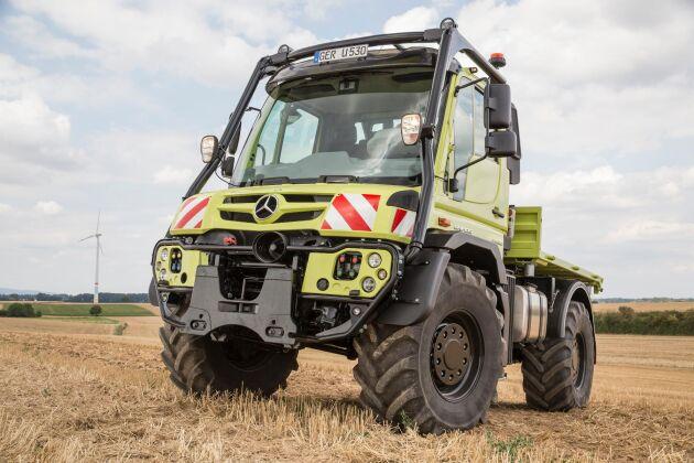 Unimog kan numera registreras som snabbgående traktor.