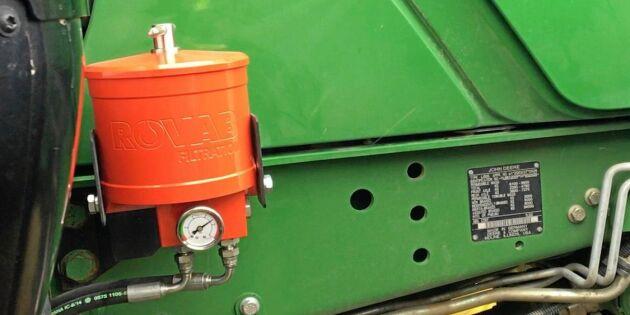 ATL TV: Färre oljebyten med extra filter