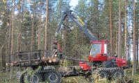 Skarpt läge för ny skogsmaskin
