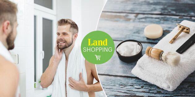 Gudie till len haka eller helskägg – ekologiskt för skägg och rakning