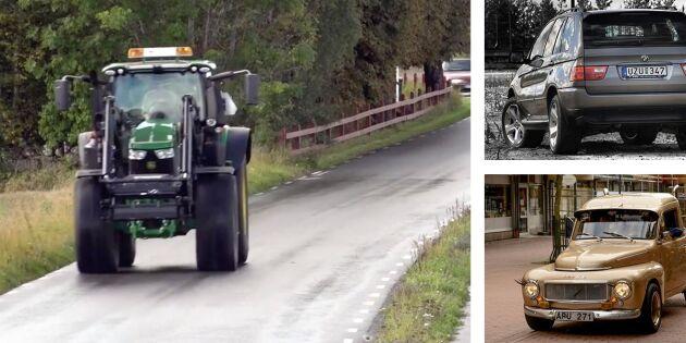 Då ska din traktor besiktigas