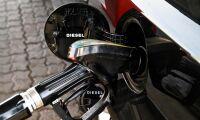 Diesel nära 17 kronor per liter