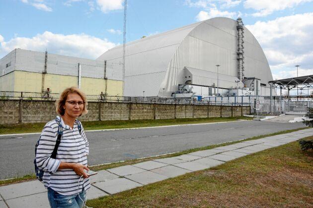 Eugenia är ett av de så kallade Tjernobylbarn som skickades till Sverige för rehabilitering.
