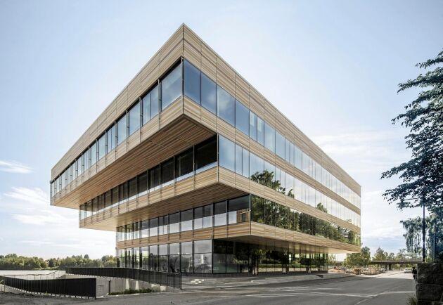 Wingårdhs är också nominerade till Årets Bygge för hybridkonstruktionen Laxen i Umeå.