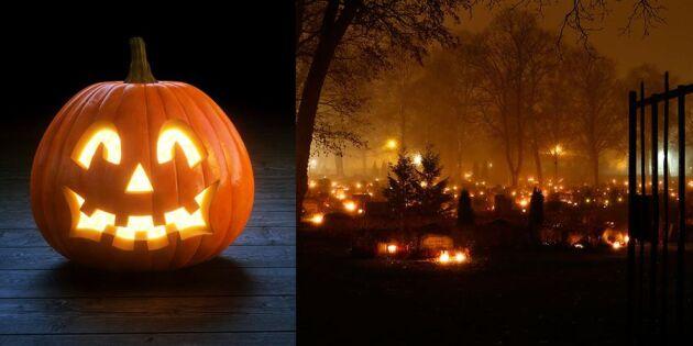 Halloween eller allhelgona – då ska du fira!