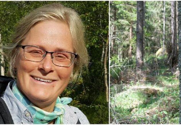 – Skog är möjligheter och vi behöver ständigt ny kunskap för att ta vara på de möjligheterna, säger Lotta Möller.