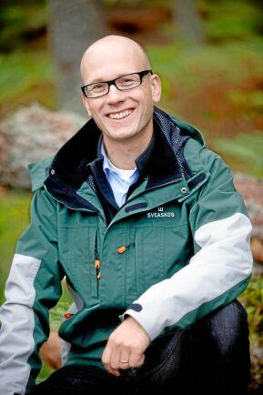 Fredrik Klang är skogsbrukschef på Sveaskog.