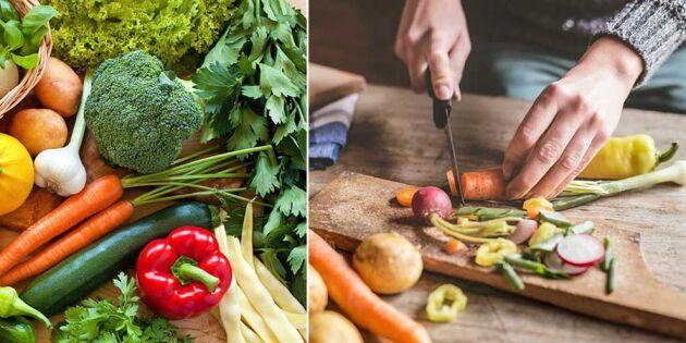 Trenden är stark - svenska grönsaker har minst rester av bekämpningsmedel