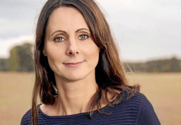Sara Hoff, kommunikationschef på Gård och Djurhälsan.