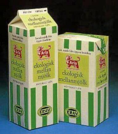 Arlas ekologiska mjölk från 1998.