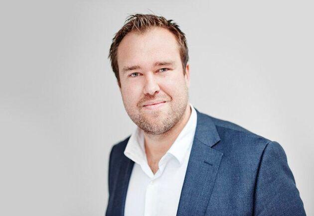 Advokat David Svenn är rekonstruktör för mjölkgården i Halland.