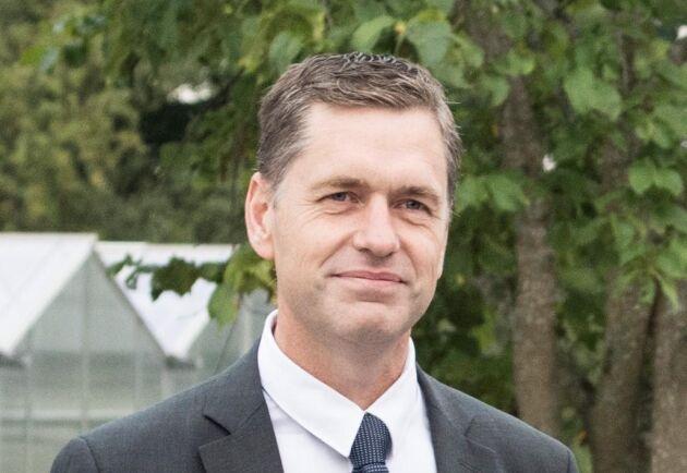 Roger Johansson, chef för Svenska Skogsplantor.