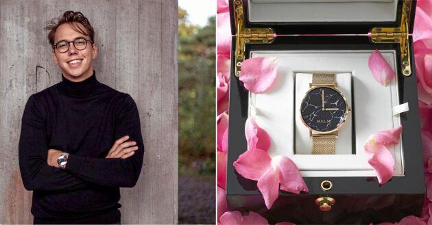 Marcus Malm kombinerar traditionellt urmakeri och modern skandinavisk design.