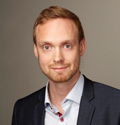 Olof Klingvall, pressansvarig på Svenska kraftnät.