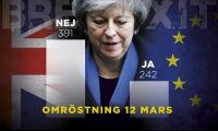 Efter nederlaget: London röstar om hård Brexit