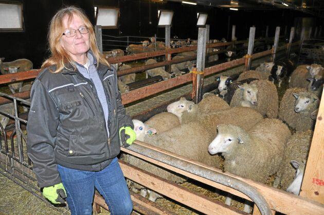 Anne-Li Gullstrand, lammproducent från Skara.