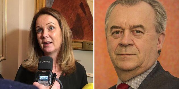 Bucht lämnar regeringen – hon tar vid som landsbygdsminister