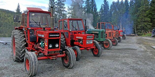 Norsk kärlek till traktorer