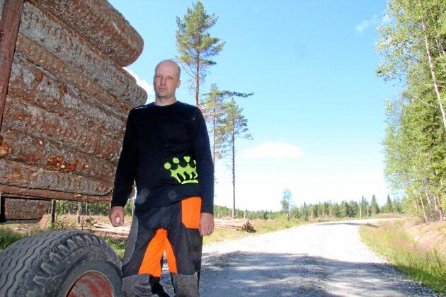 Anders Göransson är en av de skogsägare som nu får rätt att avverka efter mark- och miljödomstolens dom i lavskrikemålen.