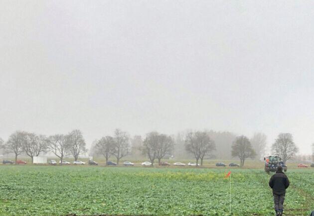 Testbädden ligger bakom Rises kontor i närheten av SLU i Uppsala. Här ska på sikt fyra hektar odlas helt autonomt.