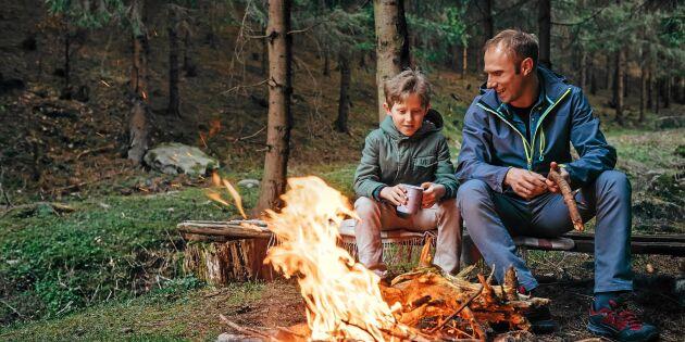Fira pappa med en härlig skogshuggarlunch – klart på nolltid