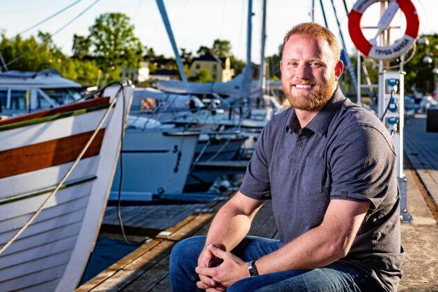 """Christopher Tholstrom, deltagare i """"Allt för Sverige"""" 2019."""