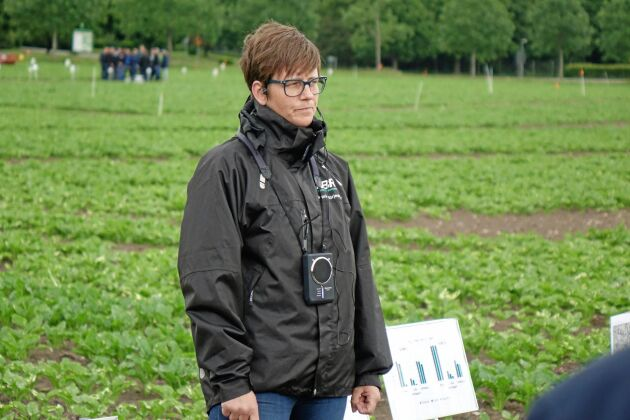 Desirée Börjesdotter, vd Nordic Beet Research.