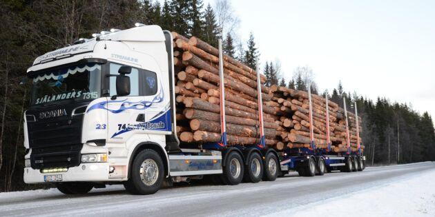 Sveriges Åkeriföretag sågar maxviktsförslaget