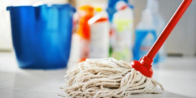 Så håller du golvmoppen fräsch – och fri från bakterier!