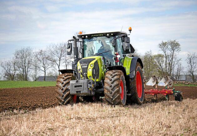 Swedish Agro Machinery säljer Claasmaskiner. Företaget har på två år ökat nettoomsättningen till 263 miljoner kronor.