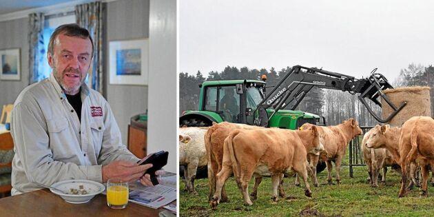 Land Lantbruks Svepet gör nyhetsgallringen åt honom