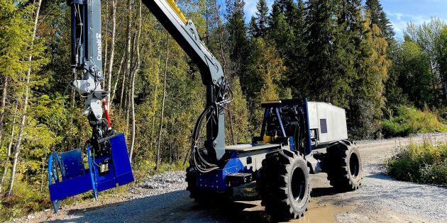 Autonom skogsmaskin redo för tuffa fälttester