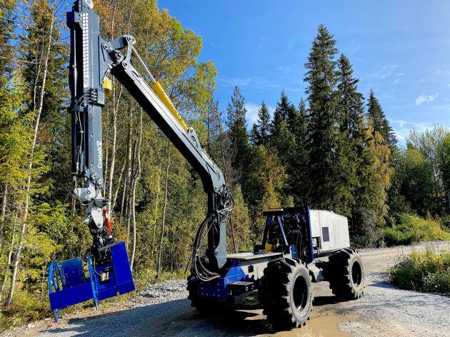 Maskinen är utrustad med GPS och byggd för hastigheter upp till 20-30 kilometer i timmen, alltså långt över vad man väntas kunna utnyttja.